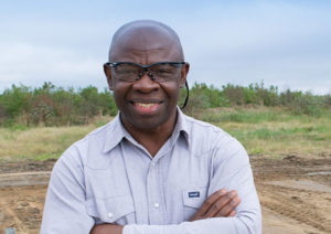 Valentine Nzengung, Professor of environmental geochemistry, at the University of Georgia (photo by Amy Ware)