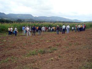 Brazil workshop farmer: AS-PTA workshop in Brazil. Photo from LEISA Magazine.
