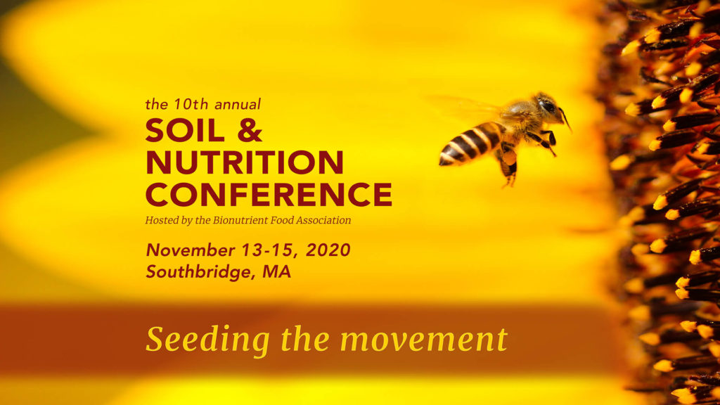 10th Annual Soil and Nutrition Conference