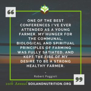 """Quote: """"One of the best conferences I've ever attended as a young farmer."""""""