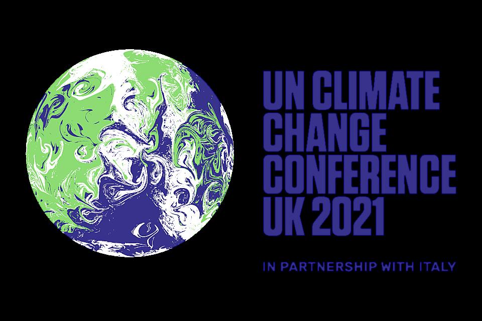 UN Climate Change Conference 2021 logo